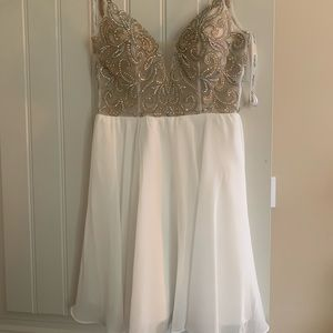 Brand new JO VANI formal dress size Double zero.